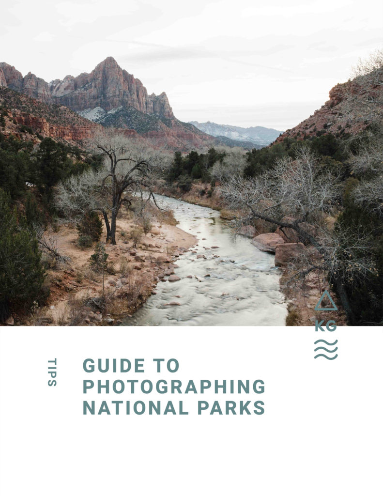 Guide to photographing national parks